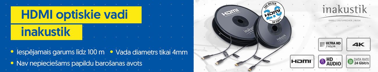 HDMI optiskie vadi